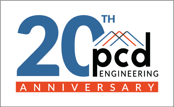 PCD Engineering 20 Year Anniversary, energy audit and consulting